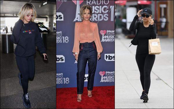 *23/02/18 - Rita Ora a été aperçue alors qu'elle arrivait à l'aéroport de Miami dans une tenue  cool, à Miami. Le lendemain, Rita a été vue (décontractée) à la Hit Factory à Miami Beach, puis le soir elle est partie manger au Komodo toujours à Miami. Des bofs!**