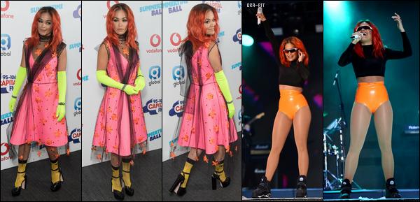 *27/05/18 - Rita Ora a performé lors du 2ème jours de BBC Radio 1's Biggest Weekend, à Swansea (UK). Sa tenue de scène est très jolie. J'aime beaucoup sa queue de cheval et sa mise en beauté. Ca sera donc un joli top pour la magnifique chanteuse!**