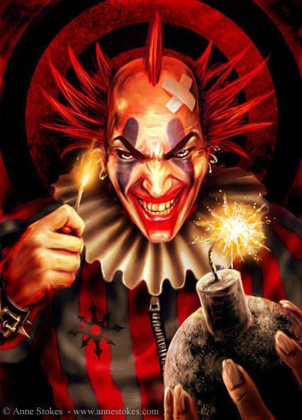 Killer Clown Säuberung