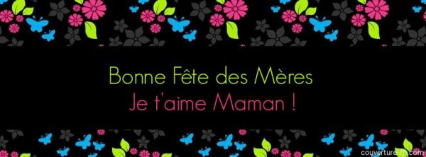 bonne fétes a toutes les mamans beaucoup de joie d'amour et de paix en se jour bises a vous jérome