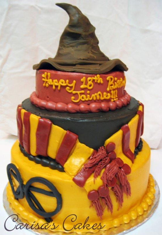 Pâtisserie :) comme je suis une grande fan d'harry potter et que je trouve ce gâteau extrémement bien fait!!! Bravo à la réalisatrice ;)