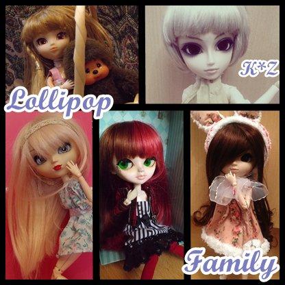 Bienvenue dans la Lollipop Family
