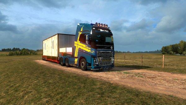 voici le jeux de mes rêve euro truck simulator