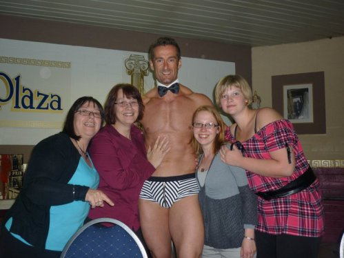 Ladies Night > show Chippendales - diner/spectacle