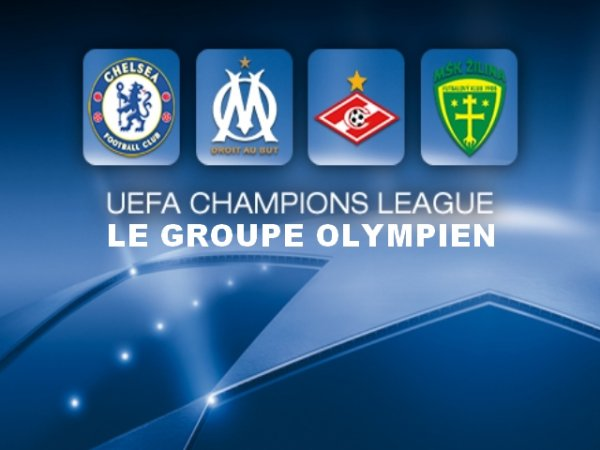 Ligue des Champions : Le groupe olympien