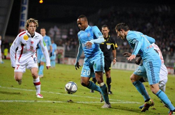 Brest-OM : les deux formations se neutralisent (0-0)