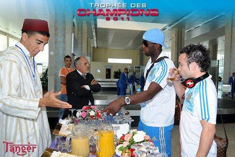 Les olympiens sont à Tanger