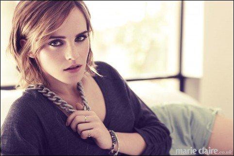 Emma pour le magazine Marie Claire UK .