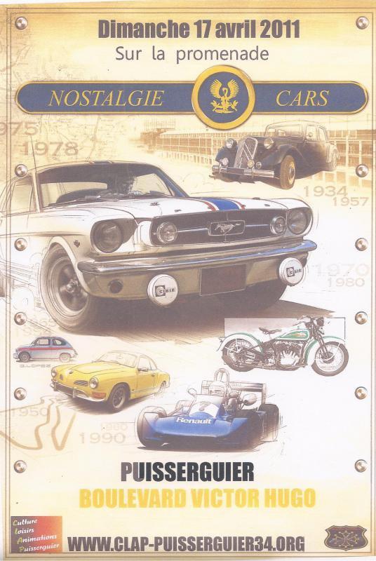 Nostalgie-Cars Dimanche 17 Avril 2001