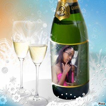 le champagne et moi