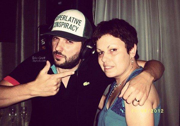 . Le 12 Juillet 2012 : Helmut Fritz en DJ Set à l'hôtel Seven à Paris.