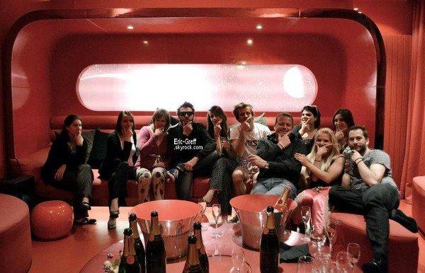 . 19 Juillet 2012 : Pyjama party au Five Hotel (Au passage, un trés joyeux anniversaire à Helmut qui fête ses 37 ans cette année ♥).