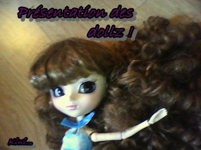 Présentations des dollz