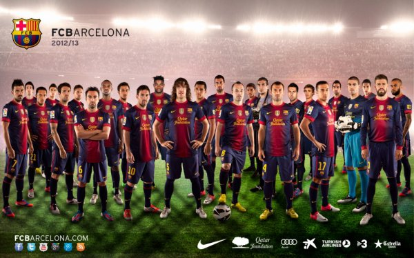 equipe fc barcelone