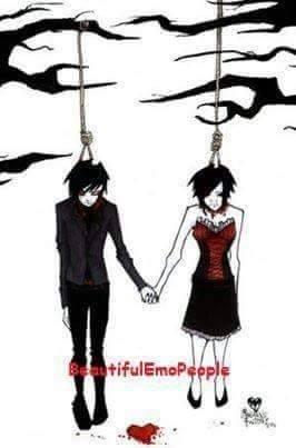 Un amour suicidaire...