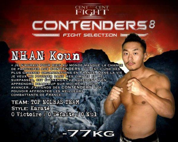 Koun Nhan aux  Contenders 8