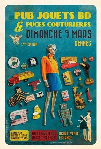 Salon de la pub a rennes blog de philou 35 - Salon de la gastronomie rennes ...