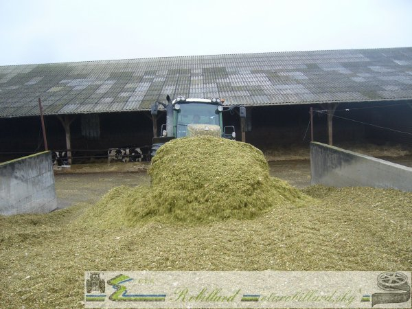 Ensilage 2010 : FENDT 927 + Lame
