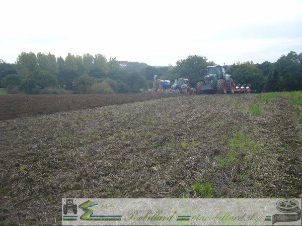 Semi de blé 2010