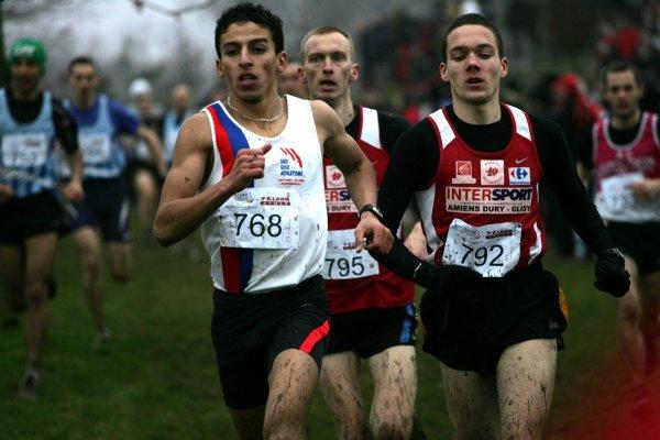 Régionaux de cross FFA 2011 : vice-champion de Picardie Espoir... dans la boue !