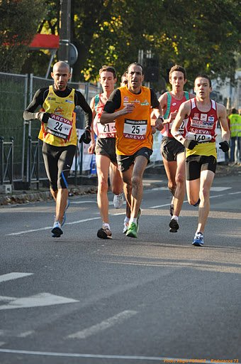 Vice-champion de France Espoir de semi-marathon 2011