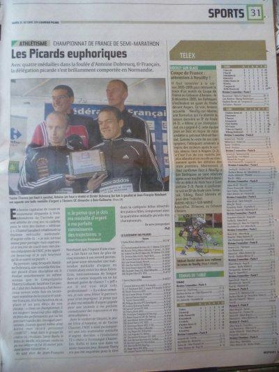 Championnats de France de semi-marathon 2011 - Presse