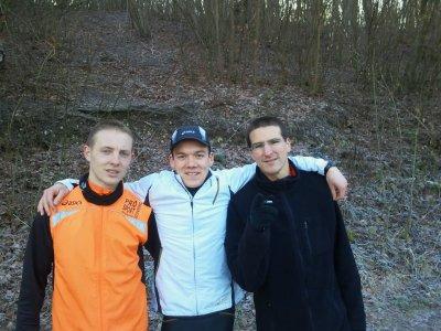 Départ en stage athlé Equipe de France senior de cross-marathon...