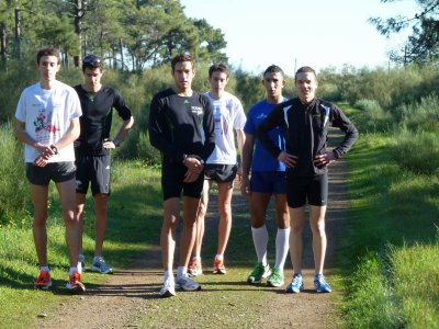 Stage Equipe de France cross-marathon, 16-28 janvier 2012...