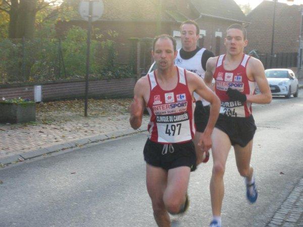 Corrida de Corbie, 5 km : 3e place en 15'33'' sans saveur...