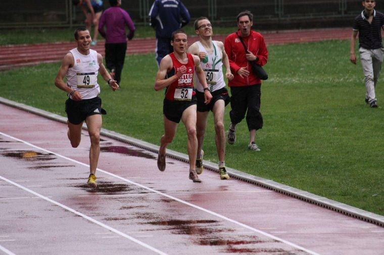 Nouveau record personnel du 5000 m.