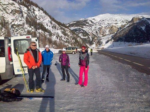 Vacances – stage d'entraînement janvier 2014. A la découverte du ski de fond…