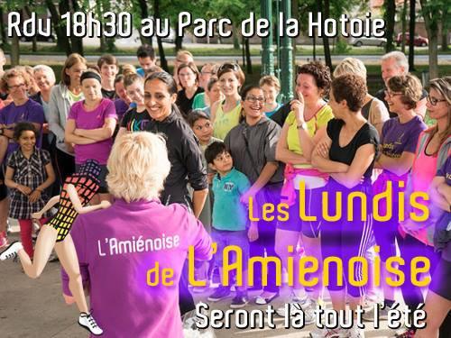 Lundi de l'Amiénoise - 9 juin 2014. Emotions et récupération active...