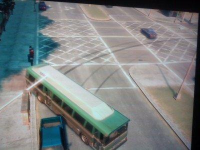 derapage ac un bus