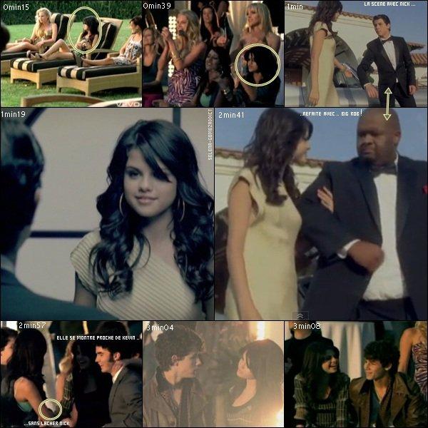 """_FLASHBACK : En 2008, Selena apparaissait dans le clip des frères Jonas, """"Burnin' up"""" _"""