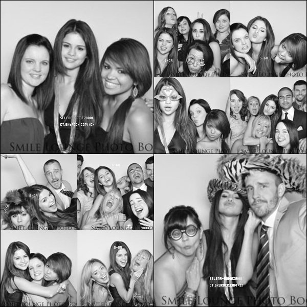 _ Photos d'une soirée organisée pour la fin des Sorciers de Waverly Place._