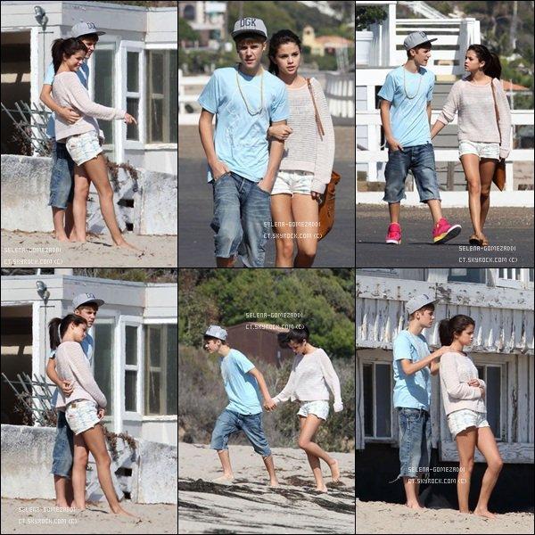 _ 23 septembre : Jelena s'amusaient sur la plage de Malibu.Top ou Flop ? _