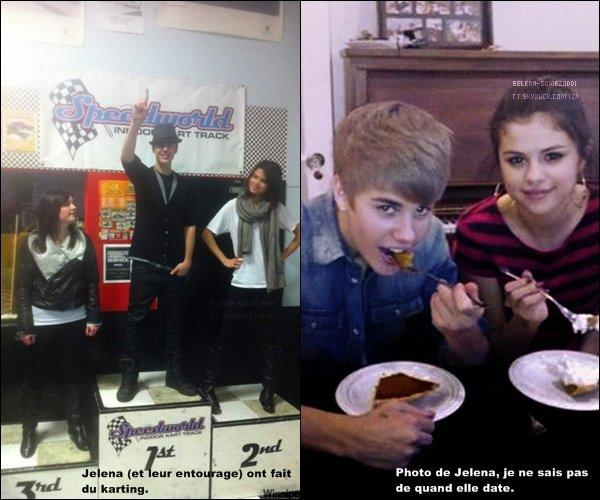 _ 22 octobre : Jelena se sont retrouvés, Justin a rejoint Selena au Canada et ils ont été voir un match de Hockey.Top ou Flop ? _