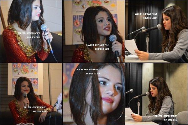 _ 13 décembre : Selena a offert un show au Jingle Bell Ball à San José.Top ou Flop ? _
