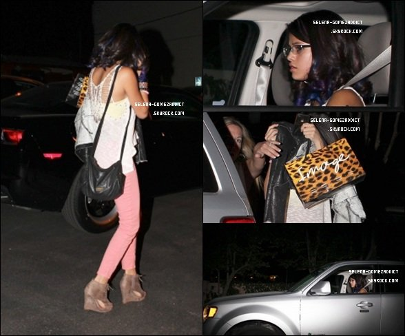 _ 10 janvier : Jelena se rendant dans un restaurant à hollywood.Top ou Flop ? _
