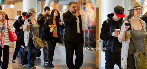 Justin à Mexico avec la famille de Selena Gomez