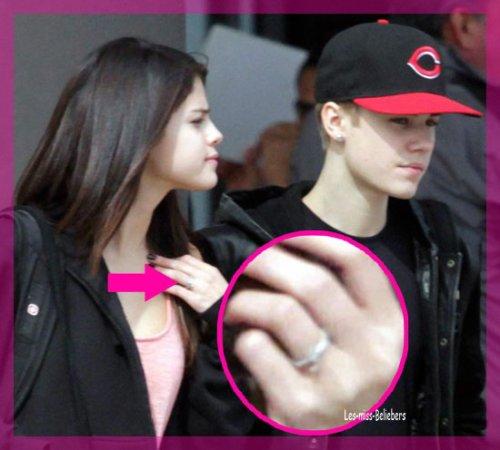 Justin et Selena Gomez fiancés ?