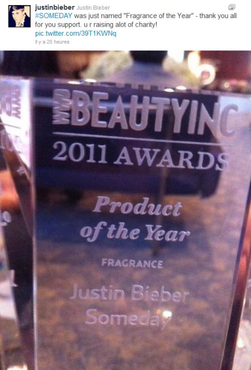 Nouvelle photo postée par Justin sur instagr.am + Twitter