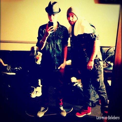 Nouvelles photos postées par Justin sur instagr.am + Photos personnelles