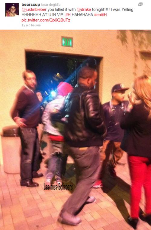 Justin au Cali Christmas
