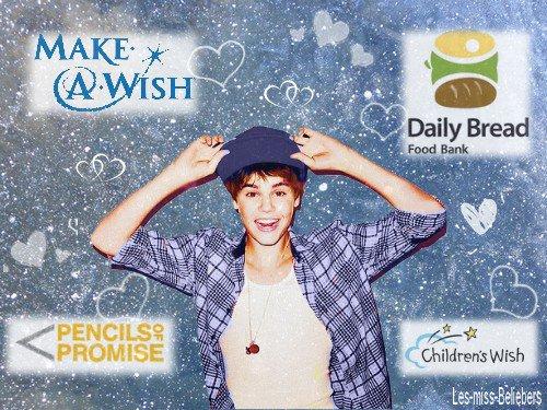 Justin dans le Top 20 des célébrités les plus généreuses