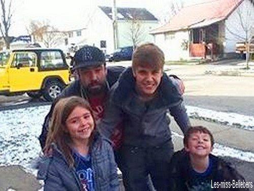 Quelques photos de Justin au Canada