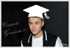 Justin vient d'être diplômé