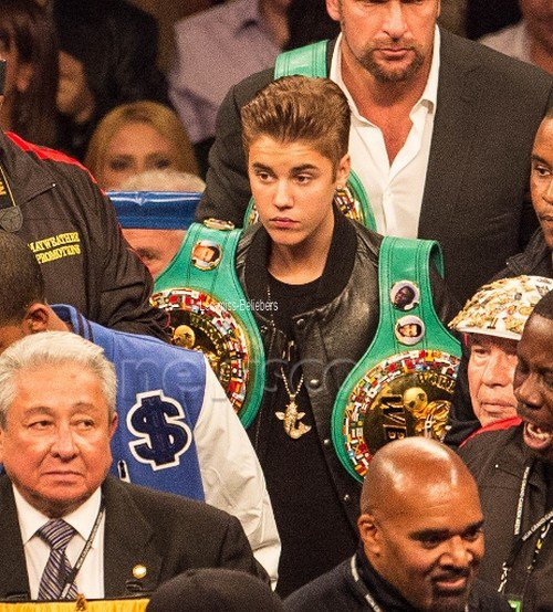 D'autres photos de Justin à Las Vegas + Vidéo
