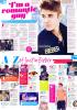 Interview de Justin dans Teen Now