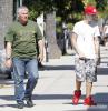 Justin est généreux même avec son garde du corps